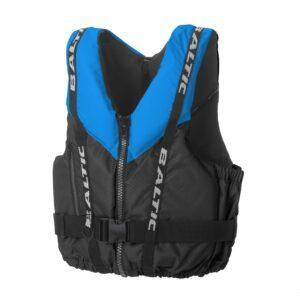 Buoyancy Aid: Blue and Black Detail with Black Trim