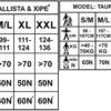 yak ba size chart 2019