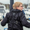 Back of Buoyancy Aid: Marine Safety and Secure